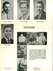 Page 14, 1957 Edition, Moundridge High School - Wildcat Yearbook (Moundridge, KS) online yearbook collection