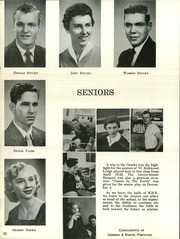 Page 16, 1957 Edition, Moundridge High School - Wildcat Yearbook (Moundridge, KS) online yearbook collection