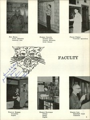 Page 9, 1957 Edition, Moundridge High School - Wildcat Yearbook (Moundridge, KS) online yearbook collection