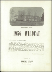 Page 5, 1956 Edition, Frankfort High School - Wildcat Yearbook (Frankfort, KS) online yearbook collection