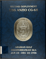 Page 1, 1998 Edition, Anzio (CG 68) - Naval Cruise Book online yearbook collection