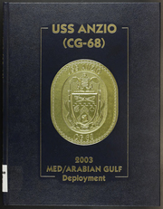 Page 1, 2003 Edition, Anzio (CG 68) - Naval Cruise Book online yearbook collection