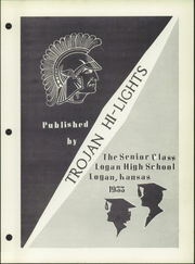 Page 5, 1955 Edition, Logan High School - Trojan Hi Lites Yearbook (Logan, KS) online yearbook collection