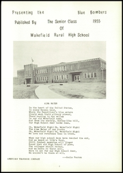 Page 5, 1955 Edition, Wakefield High School - Bombers Yearbook (Wakefield, KS) online yearbook collection