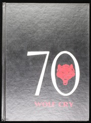 1970 Edition, Lebo High School - Wolf Cry Yearbook (Lebo, KS)
