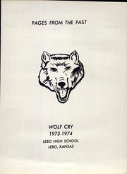 Page 5, 1974 Edition, Lebo High School - Wolf Cry Yearbook (Lebo, KS) online yearbook collection