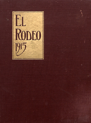 University of Southern California - El Rodeo Yearbook (Los Angeles, CA) online yearbook collection, 1915 Edition, Page 1