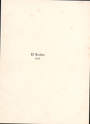 Page 2, 1915 Edition, University of Southern California - El Rodeo Yearbook (Los Angeles, CA) online yearbook collection