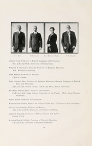 Page 14, 1920 Edition, University of Southern California - El Rodeo Yearbook (Los Angeles, CA) online yearbook collection