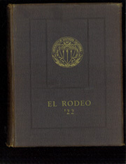 Page 1, 1922 Edition, University of Southern California - El Rodeo Yearbook (Los Angeles, CA) online yearbook collection