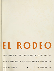 Page 5, 1940 Edition, University of Southern California - El Rodeo Yearbook (Los Angeles, CA) online yearbook collection