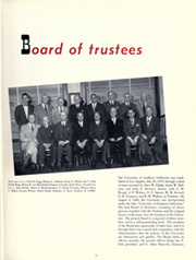 Page 15, 1952 Edition, University of Southern California - El Rodeo Yearbook (Los Angeles, CA) online yearbook collection