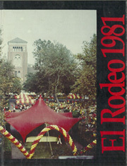 1981 Edition, University of Southern California - El Rodeo Yearbook (Los Angeles, CA)