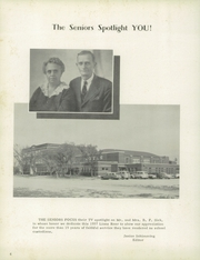 Page 8, 1957 Edition, Hope High School - Lions Roar Yearbook (Hope, KS) online yearbook collection