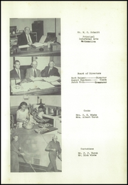 Page 11, 1957 Edition, Goessel High School - Bluebird Yearbook (Goessel, KS) online yearbook collection