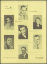 Page 10, 1954 Edition, Olpe Rural High School - Eagle Yearbook (Olpe, KS) online yearbook collection