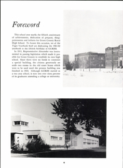 Page 8, 1962 Edition, Grant County Rural High School - Tiger Yearbook (Ulysses, KS) online yearbook collection
