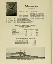 Page 16, 1945 Edition, Arkansas (BB 33) - Naval Cruise Book online yearbook collection