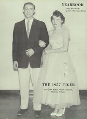 Page 7, 1957 Edition, Natoma High School - Tiger Yearbook (Natoma, KS) online yearbook collection