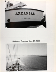 Page 9, 1990 Edition, Arkansas (CGN 41) - Naval Cruise Book online yearbook collection