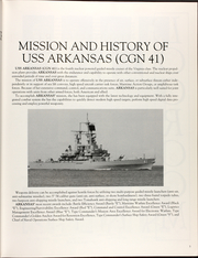 Page 9, 1994 Edition, Arkansas (CGN 41) - Naval Cruise Book online yearbook collection