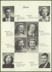 Page 10, 1951 Edition, College High School - Comet Yearbook (Pittsburg, KS) online yearbook collection