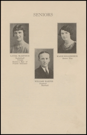 Page 9, 1925 Edition, Brewster High School - Bulldog Yearbook (Brewster, KS) online yearbook collection