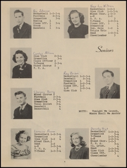 Page 8, 1949 Edition, Brewster High School - Bulldog Yearbook (Brewster, KS) online yearbook collection
