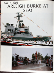 Page 8, 1992 Edition, Arleigh Burke (DDG 51) - Naval Cruise Book online yearbook collection