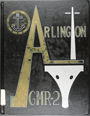 1967 Edition, Arlington (AGMR 2) - Naval Cruise Book