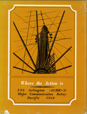 1968 Edition, Arlington (AGMR 2) - Naval Cruise Book
