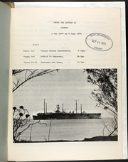 Page 5, 1969 Edition, Arlington (AGMR 2) - Naval Cruise Book online yearbook collection