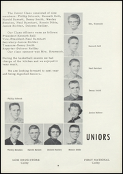 Golden Plains High School - Bulldog Yearbook (Rexford, KS) online yearbook collection, 1956 Edition, Page 21