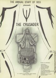 Page 13, 1955 Edition, St Mary of the Plains High School - Crusader Yearbook (Dodge City, KS) online yearbook collection