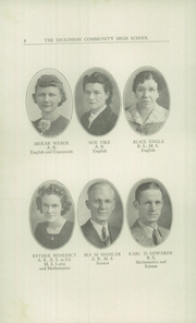 Page 10, 1942 Edition, Dickinson County High School - Shamrock Yearbook (Chapman, KS) online yearbook collection