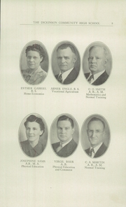 Page 11, 1942 Edition, Dickinson County High School - Shamrock Yearbook (Chapman, KS) online yearbook collection