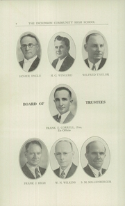 Page 6, 1942 Edition, Dickinson County High School - Shamrock Yearbook (Chapman, KS) online yearbook collection