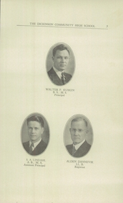 Page 9, 1942 Edition, Dickinson County High School - Shamrock Yearbook (Chapman, KS) online yearbook collection