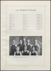 Page 43, 1930 Edition, Sherman Community High School - Golden S Yearbook (Goodland, KS) online yearbook collection