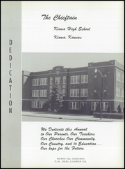 Page 7, 1956 Edition, Kiowa High School - Chieftain Yearbook (Kiowa, KS) online yearbook collection
