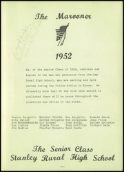 Page 5, 1952 Edition, Stanley High School - Marooner Yearbook (Stanley, KS) online yearbook collection