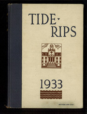 United States Coast Guard Academy - Tide Rips Yearbook (New London, CT) online yearbook collection, 1933 Edition, Page 1