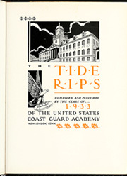 Page 11, 1933 Edition, United States Coast Guard Academy - Tide Rips Yearbook (New London, CT) online yearbook collection