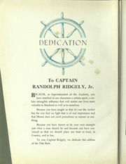 Page 10, 1935 Edition, United States Coast Guard Academy - Tide Rips Yearbook (New London, CT) online yearbook collection