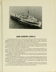 Page 5, 1980 Edition, Austin (LPD 4) - Naval Cruise Book online yearbook collection
