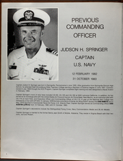 Page 10, 1983 Edition, Austin (LPD 4) - Naval Cruise Book online yearbook collection