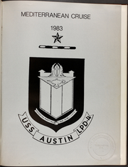 Page 5, 1983 Edition, Austin (LPD 4) - Naval Cruise Book online yearbook collection