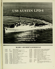 Page 5, 1989 Edition, Austin (LPD 4) - Naval Cruise Book online yearbook collection