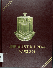 Page 1, 1994 Edition, Austin (LPD 4) - Naval Cruise Book online yearbook collection