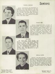 Page 10, 1952 Edition, Sharon High School - Cardinal Yearbook (Sharon, KS) online yearbook collection